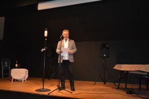 Toastmaster Christian Ingholt åbner for underholdningen